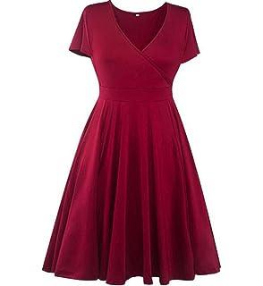 GAOYUN Vestido de Gran tamaño de la Falda de Las Mujeres gordas mm otoño Vestido de