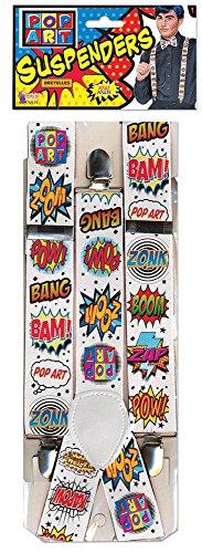 Forum Novelties 76939 Pop Art Braces Accessory Set, One Size]()