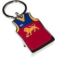 Brisbane Lions AFL Footy Guernsey Bottle Opener Keyring