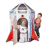 Melissa & Doug Rocket Ship Indoor Playhouse
