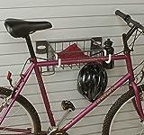 HandiWall Horizontal Bike Rack & Basket by HandiSolutions