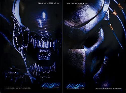 Avp Alien Vs Predator 2004 U S Mini Poster Set Of 2 At Amazon S Entertainment Collectibles Store
