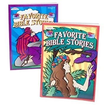 Amazon.com: Bulk Favorite Bible Stories Coloring Book [24 Pieces ...