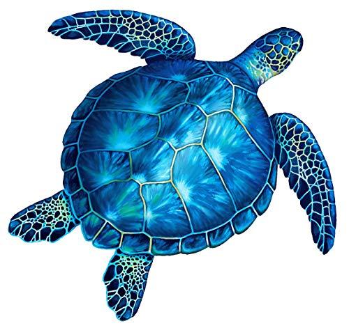 (Sea Turtle Porcelain Swimming Pool Mosaic (18