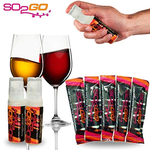 (Australia's Secret! NEW COMBO Wine Allergy Sensitivity Prevention Wine Sulfite Remover Better Than Hangover Prevention Remedies & Wine Filters Stops Red Wine Headaches Nausea IBS (Combo Pack))