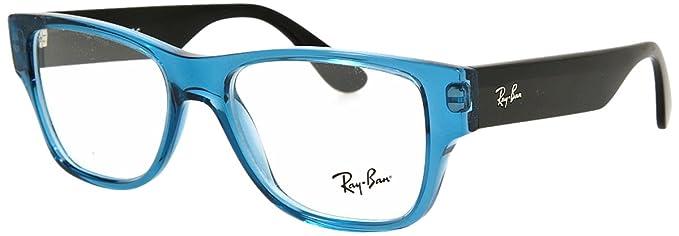 77fbfb46b8 Ray-Ban óptico Marcos de Anteojos para los hombres RX7028-5395: Aceite  transparente - 53mm: Amazon.es: Ropa y accesorios