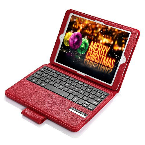 ipad 2 keyboard case red - 2