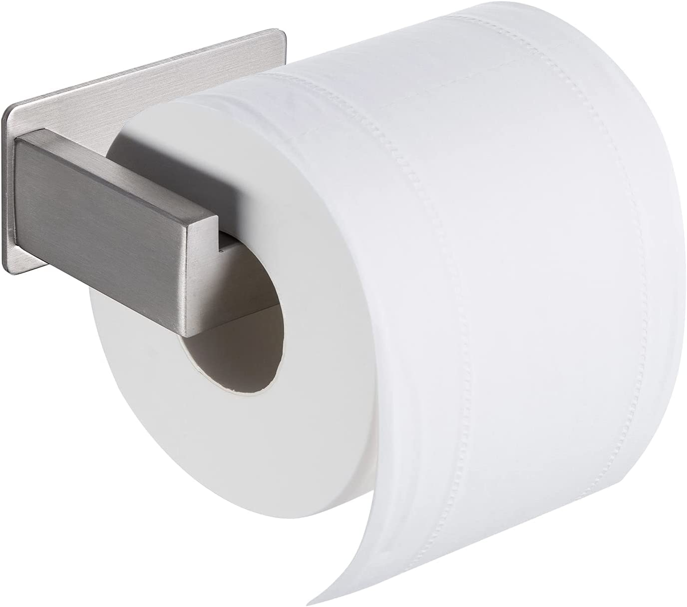 Kapitan Stick On Toilet Roll Holder Stainless Steel Paper Holder Self Adhesi...