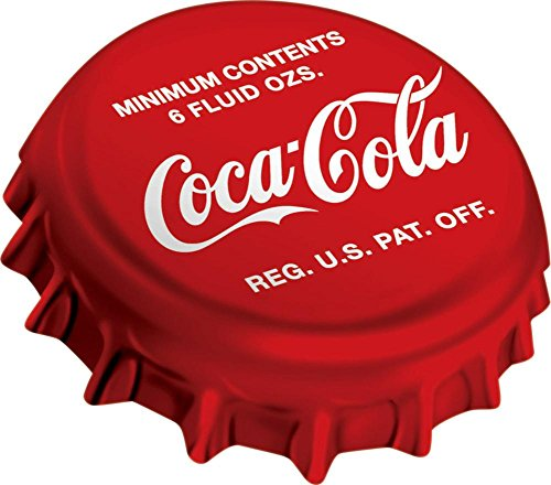 Coke Bottle Cap Sign 16in