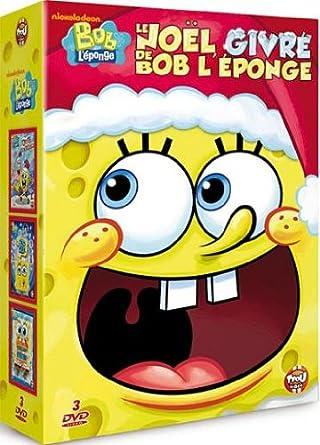 Le Noël Givré De Bob L éponge Coffret 3 Dvd Dvd Blu Ray