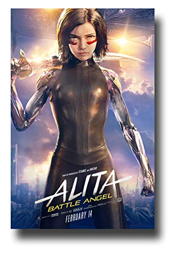 Alita Battle Angel Poster Movie Promo 11 x 17 inches Standing - Poster Angel Movie