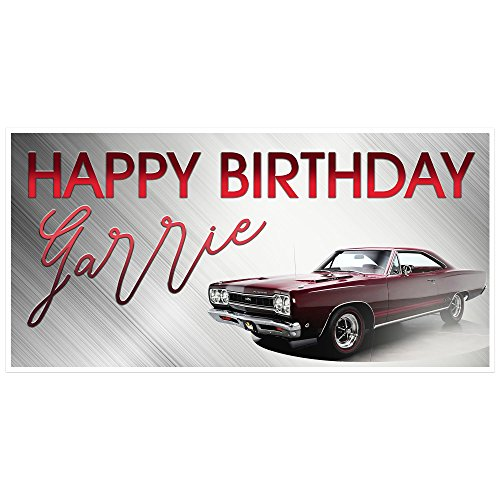 plymouth-roadrunner-birthday-banner-personalized-party-backdrop