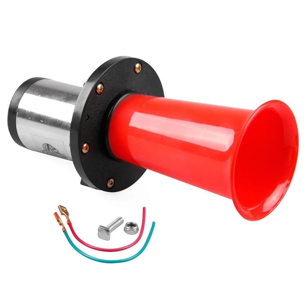 Fansport Auto Horn Universal 12V/24V 150DB Car Trumpet Air Horn