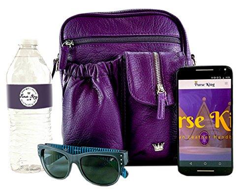 King Purple Body Cross Bag Purse Orchid zOfAnwR