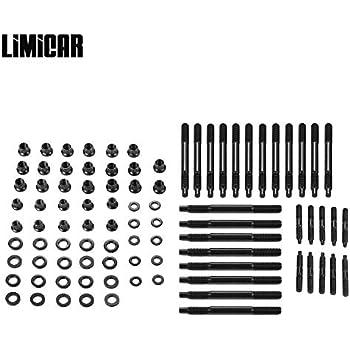 Amazon com: Speedmaster PCE279 1023 Cylinder Head Fasteners
