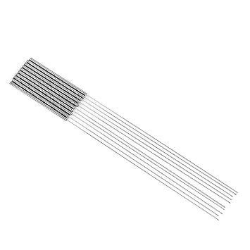 Kit 10 Piezas de Aguja de Limpieza de Boquilla de 0,4 mm, Kit de ...