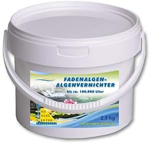 2,5kg Producto antialgas (aquaactiv Estanque Koi algas Stop algas Killer
