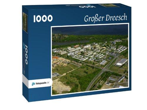 Großer Dreesch - Puzzle 1000 Teile mit Bild von oben