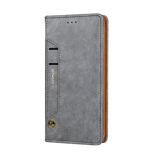 Businda Galaxy S8+ Wallet Case, Luxury Stylish Phone Case with Standing Feature & Card Slots PU Leather Dual Layer Design Cover for Samsung S8 Plus
