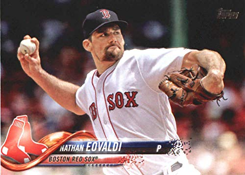2018 Topps Update and Highlights Baseball Series #US51 Nathan Eovaldi Boston Red Sox Official MLB Trading Card