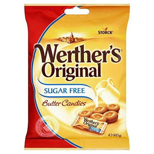 Original Werthers Original No Sugar Bag Imported From The UK England The Very Best Of British No Sugar Chewy Toffee