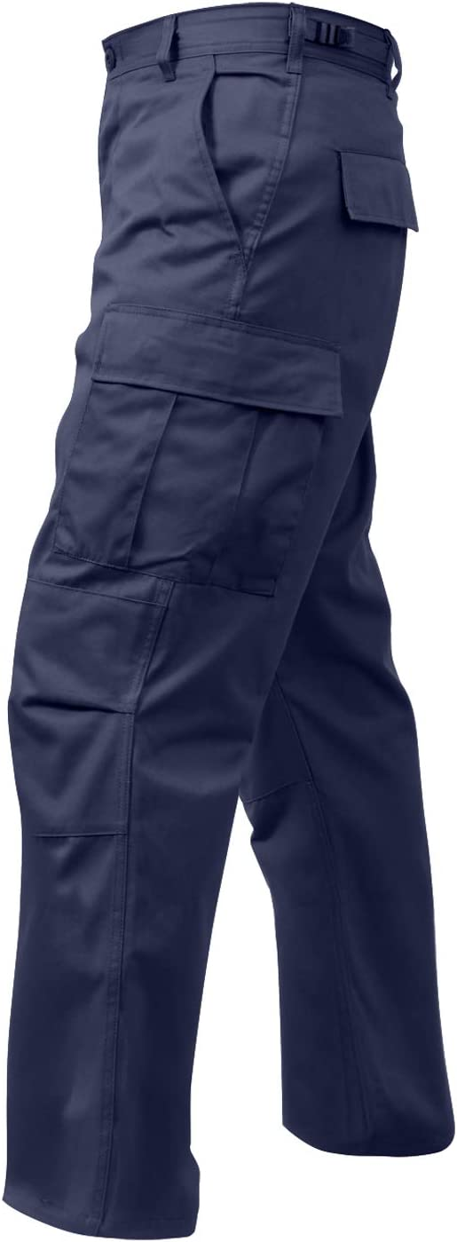 Rothco Relaxed Fit Zipper Fly BDU Pants: Clothing