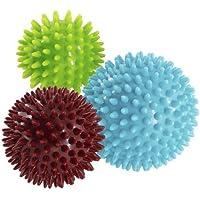 Conjunto de 3 bolas de pinchos anti estrés