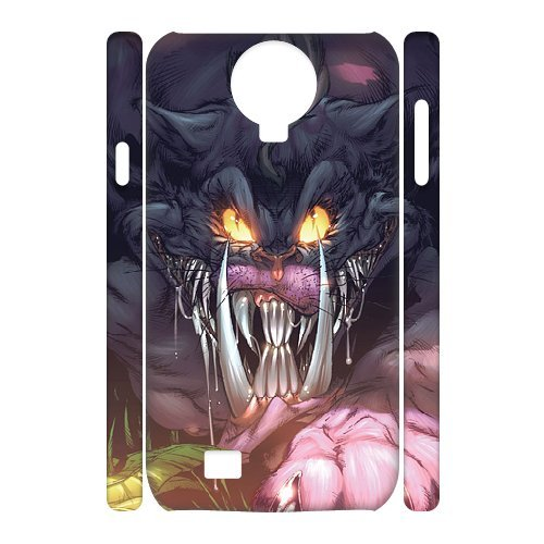 3D [Comics] the Cheshire Cat Case for Samsung Galaxy S4 {White