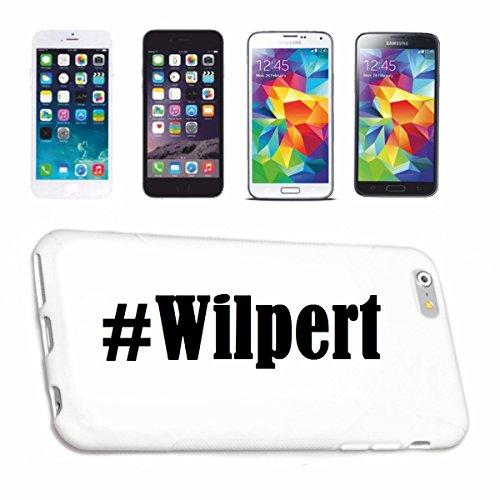 Handyhülle iPhone 4 / 4S Hashtag ... #Wilpert ... im Social Network Design Hardcase Schutzhülle Handycover Smart Cover für Apple iPhone … in Weiß … Schlank und schön, das ist unser HardCase. Das Case