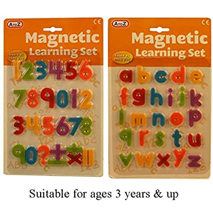A TO Z Imanes magnéticos para nevera, diseño de letras del ...