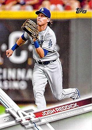 separation shoes d3e6b 6ed69 Amazon.com: Baseball MLB 2017 Topps #329 Josh Reddick ...