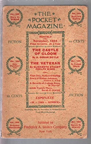 (Pocket Magazine #1 11/1895-1st issue-120+ years old-A. Conan Doyle-VF-)