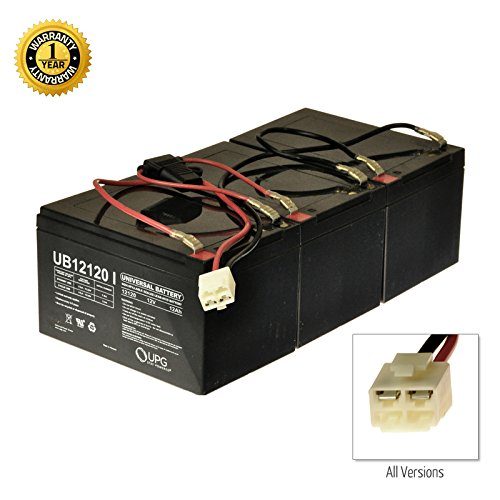 Alvey 36 Volt Battery Pack for the Razor SX500 (12 Ah, With Harness)