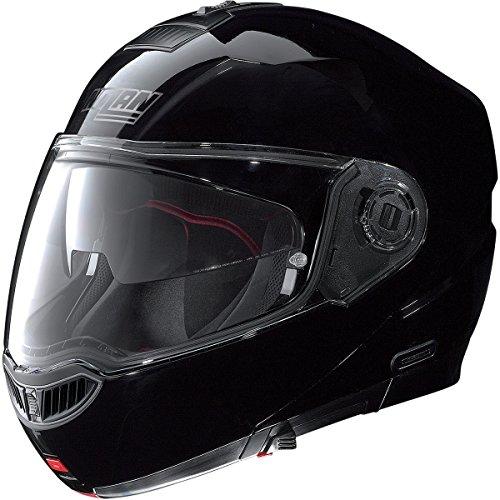 Nolan N-104 MCS Helmet (Gloss Black, Large)