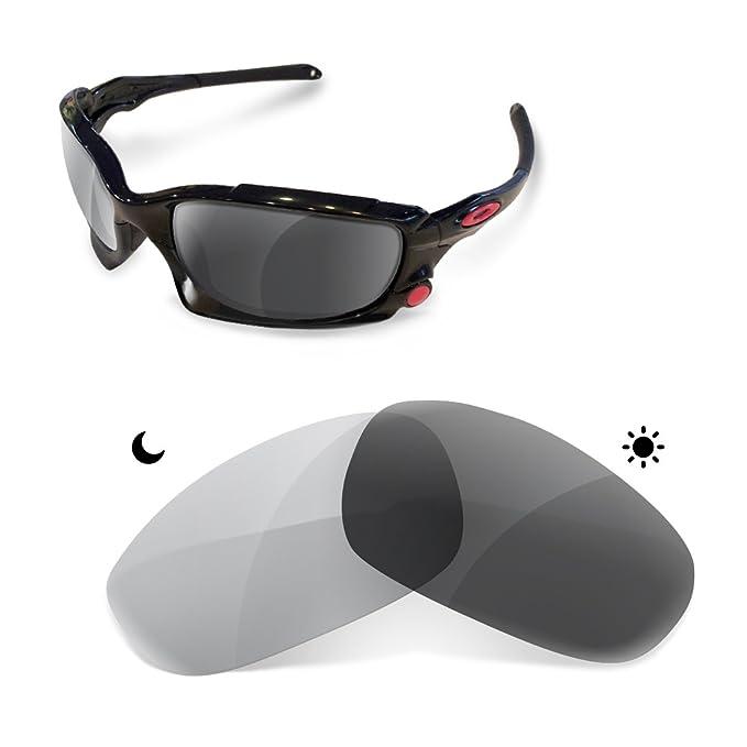 sunglasses restorer Premium Lentes Fotocromáticas Grises de Recambio para Oakley Split Jacket