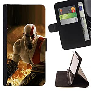 Momo Phone Case / Flip Funda de Cuero Case Cover - Krat0S - G0D Of War - Apple Iphone 6
