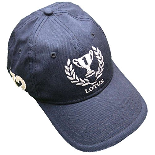 Formula One 1 Team Lotus Originals F1 Lotus Trophy Dark Blue LHM26 Cap (Lotus F1 Hat)