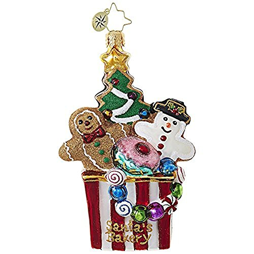 Christopher Radko Christmas Cookie Comfort Brilliant Treasure Christmas Ornament