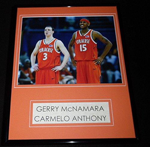 Carmelo Anthony Gerry McNamara Framed 11x14 Photo Display Syracuse