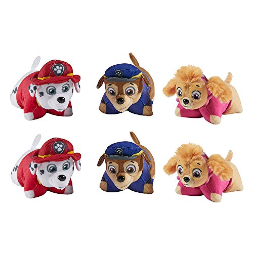 Nickelodeon Paw Patrol Party Pack - Set of 6, Two Chase, Two Skye, Two Marshall, 5