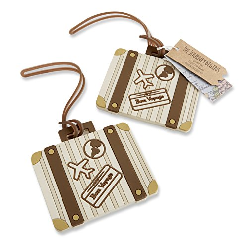 Kate Aspen Vintage Suitcase Bundle of 12 Luggage Tags, Multi-Colored by Kate Aspen (Image #3)