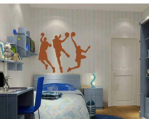 sports silhouette wall decals - 6