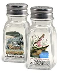 Acquisition American Expedition Glass Salt and Pepper Shaker Sets (Alligator) by American Expedition cheapest