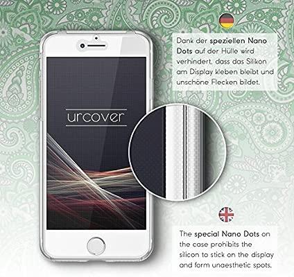 Urcover Funda Huawei P9 Lite Edición 360 Grados Mandala Flexible Huawei P9 Lite Protección Completa Delgada Antichoque Antigolpes Anticaidas ...