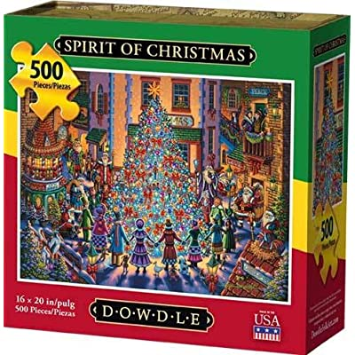 Dowdle Jigsaw Puzzle - Spirit of Christmas - 500 Piece: Toys & Games