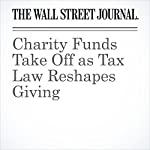 Charity Funds Take Off as Tax Law Reshapes Giving | Richard Rubin