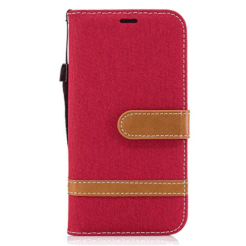 iPhone 8 Flip Case, Cover for iPhone 8 Leather Mobile Phone case Kickstand Extra-Protective Business Card Holders with Free Waterproof-Bag Absorbing