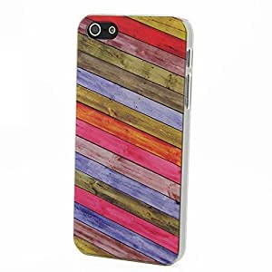 Case For Samsung Galaxy S5 Cover AFYCOLOR Hard PC Material with UV PriWood Pattern Series of design 8