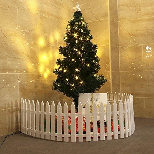 christmas tree fence