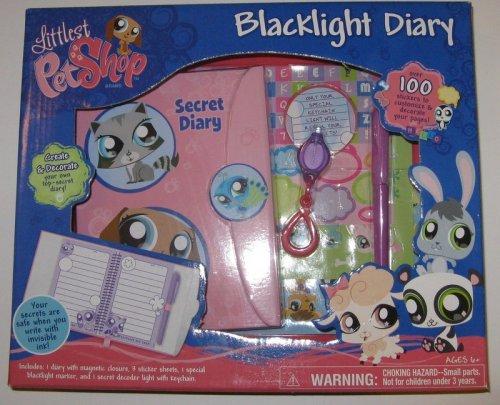 Littlest Pet Shop Blacklight Diary
